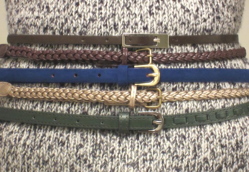 Fashion Favorites - Skinny Belts