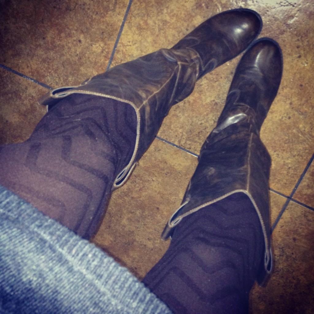 Fashion Icebar Tights and Boots