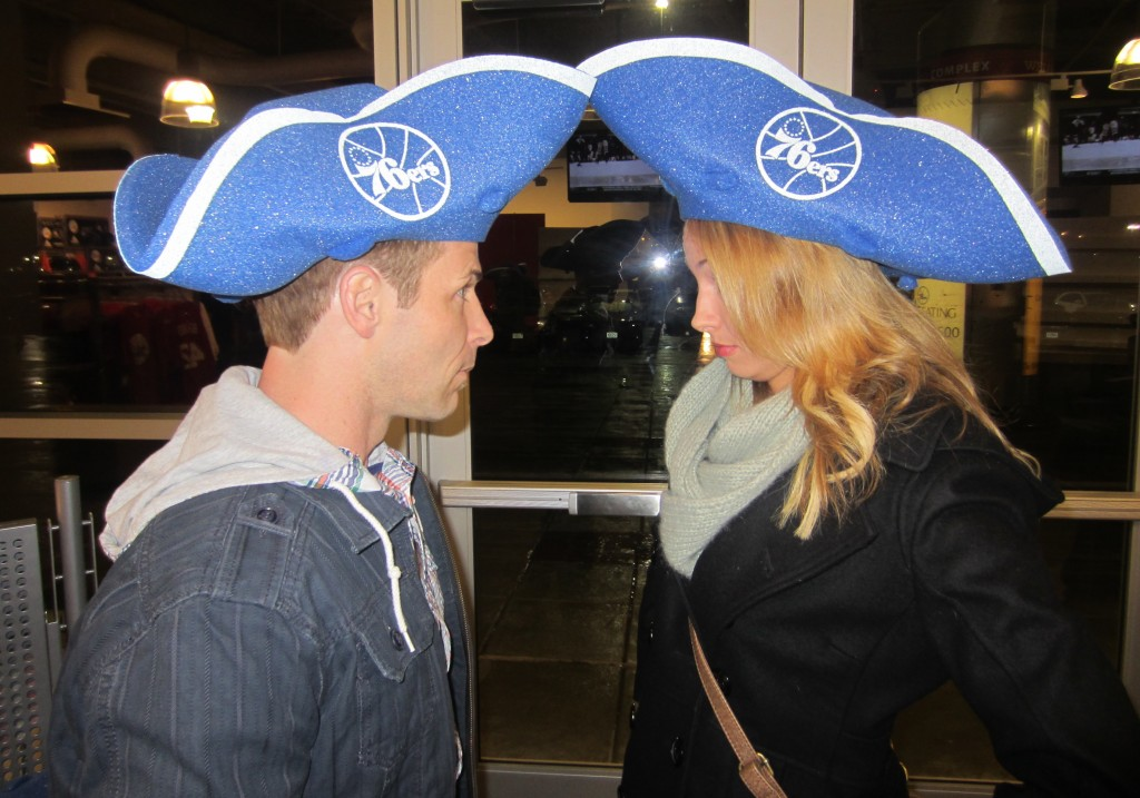 76ers Game hats