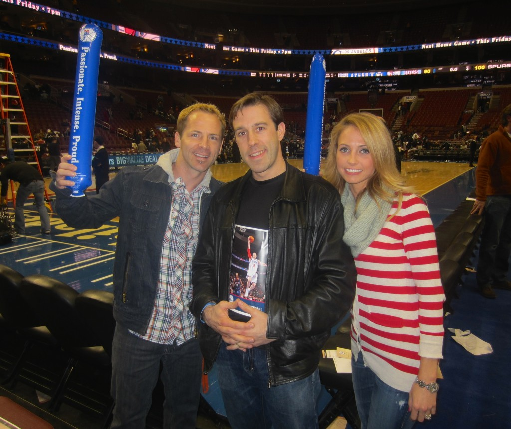 76ers Game with Chris