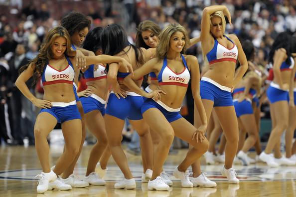 76ers dancers