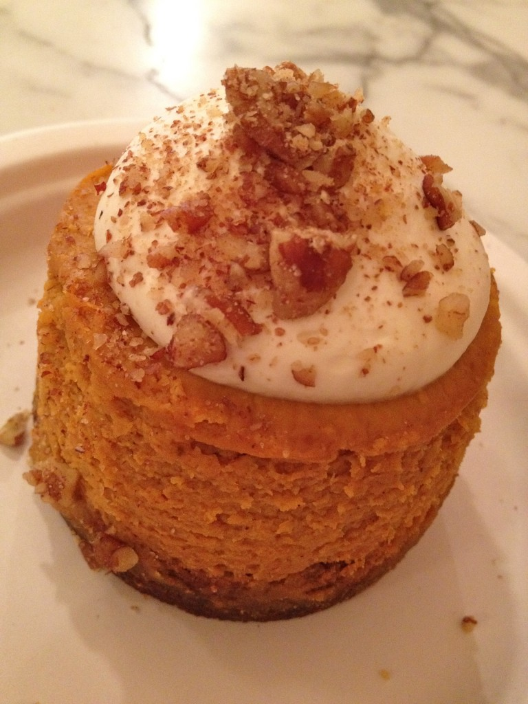Pumpkin Cheesecake Magnolia Bakery