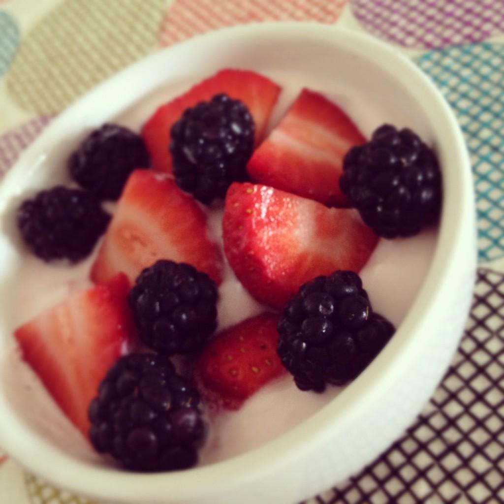 Fruit and Yogurt snack
