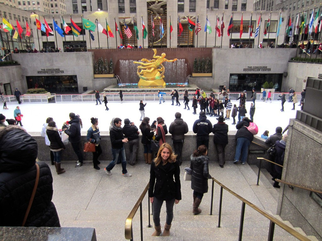 Me at Rockefeller Center