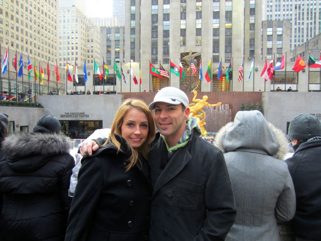 Me and Scott at Rockefeller Center