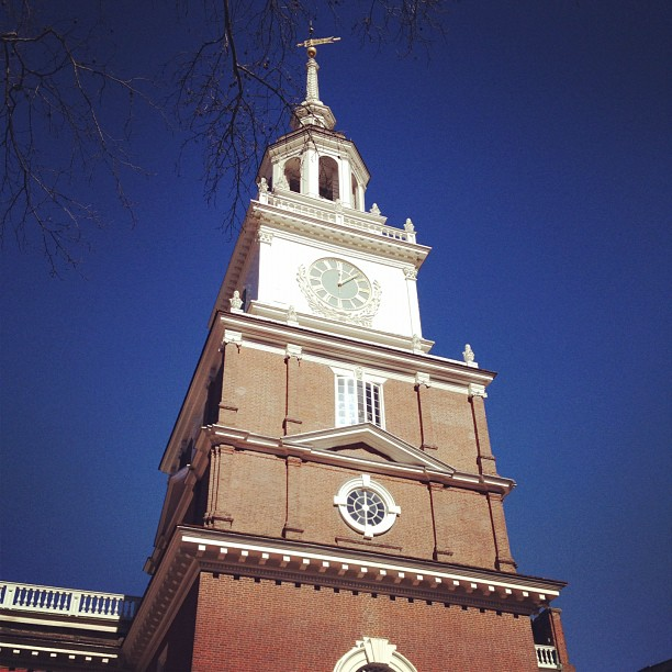 Independance Hall - Bell Tower