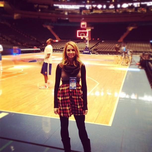 Knicks vs Lakers me before game
