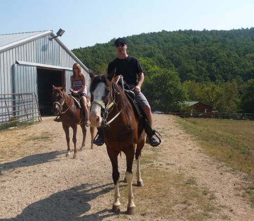 The Proposal Horseback riding