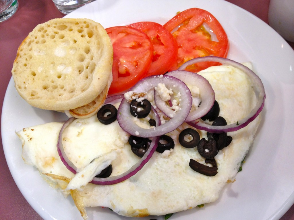 First Watch Greek Omelet