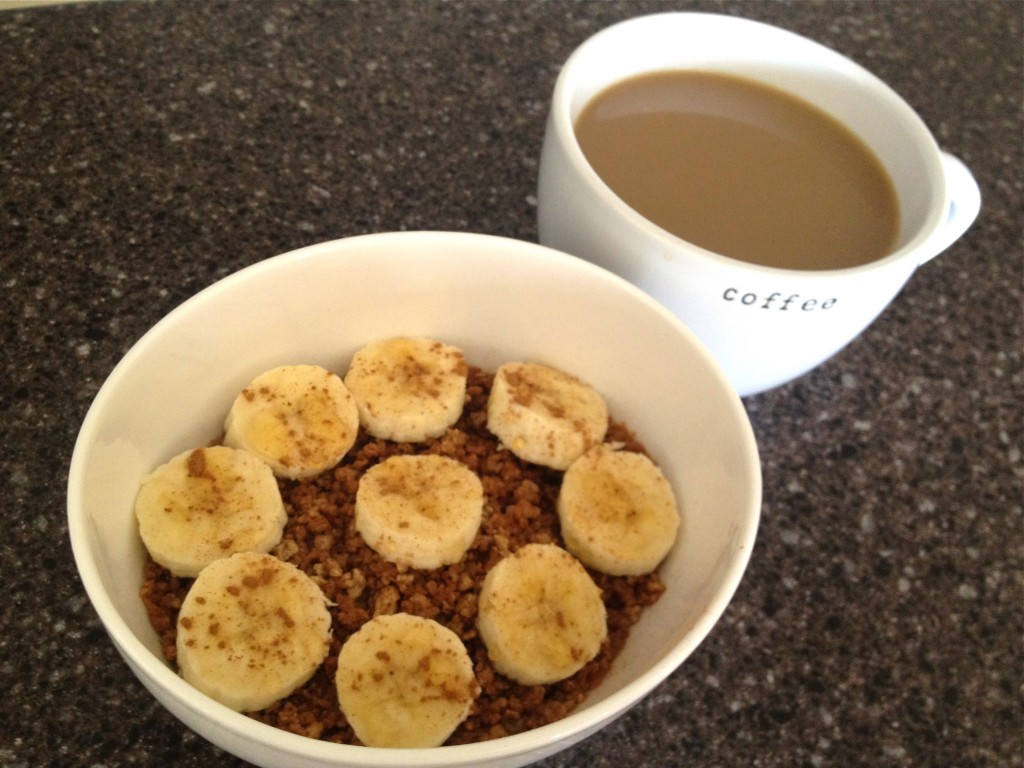 Grape Nuts Hot Cereal and Coffee