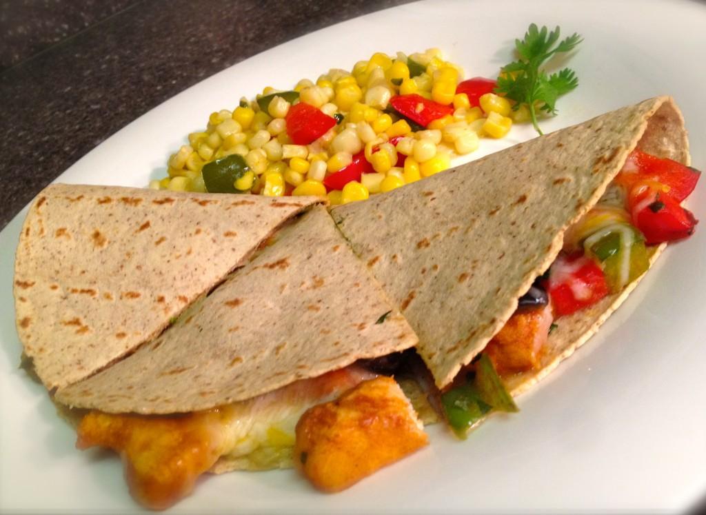 Chicken Cilantro Quesadillas