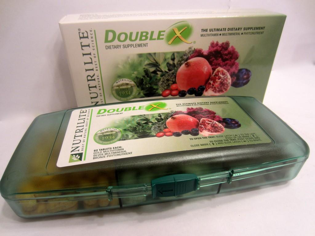 Nutrilite Double X in case