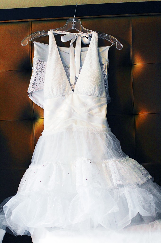 wedding reception dress