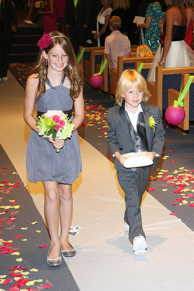 Ring Bearer and Flowermaid