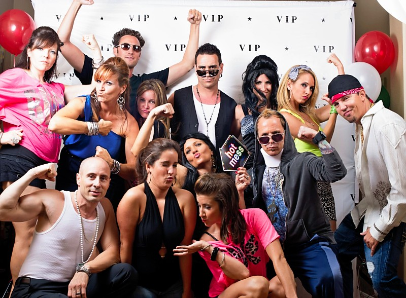 Jersey Shore Party big group