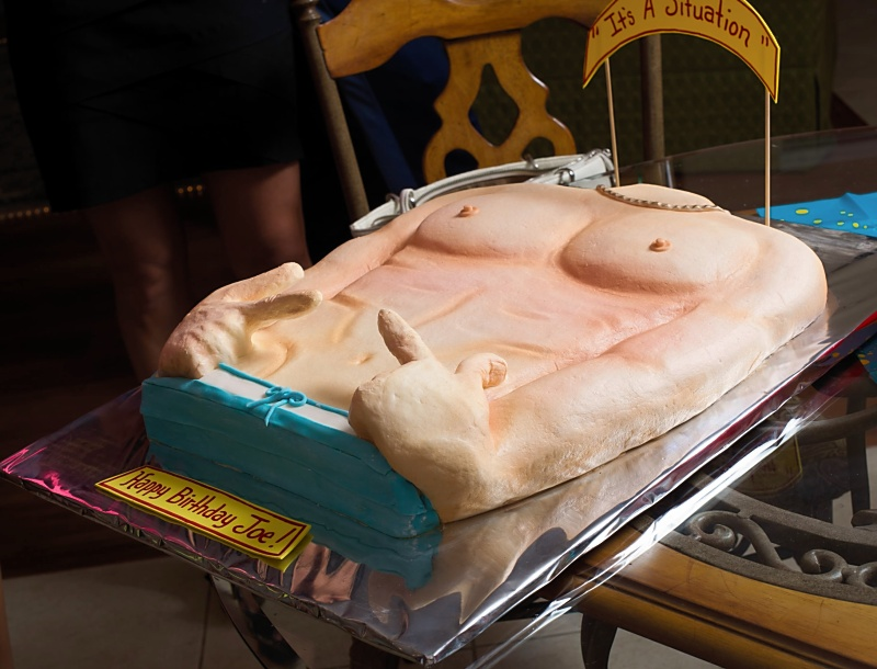 Jersey Shore Party cake