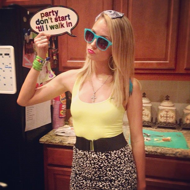 Jersey Shore Party me with sign