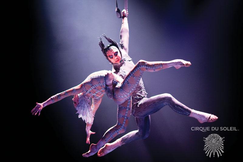 MJ Immortal Cirque aerialists