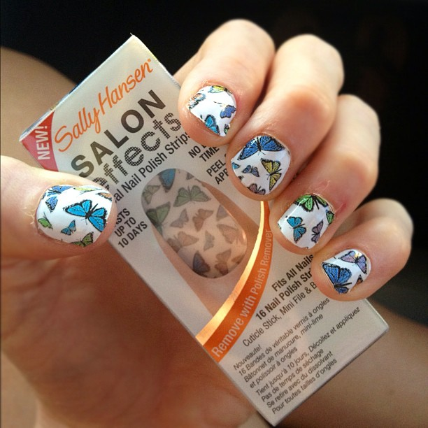 Nail Strips in Fly with Me