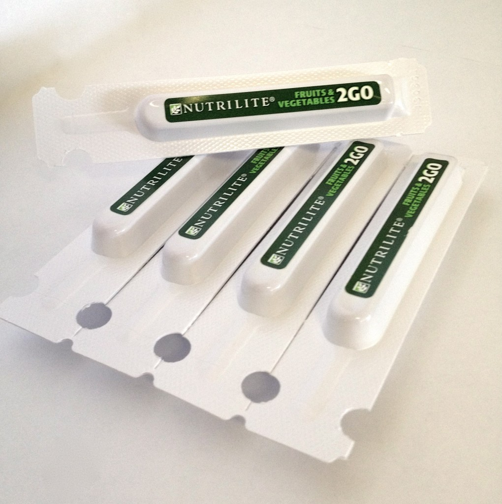Nutrilite Twist Tube Packets