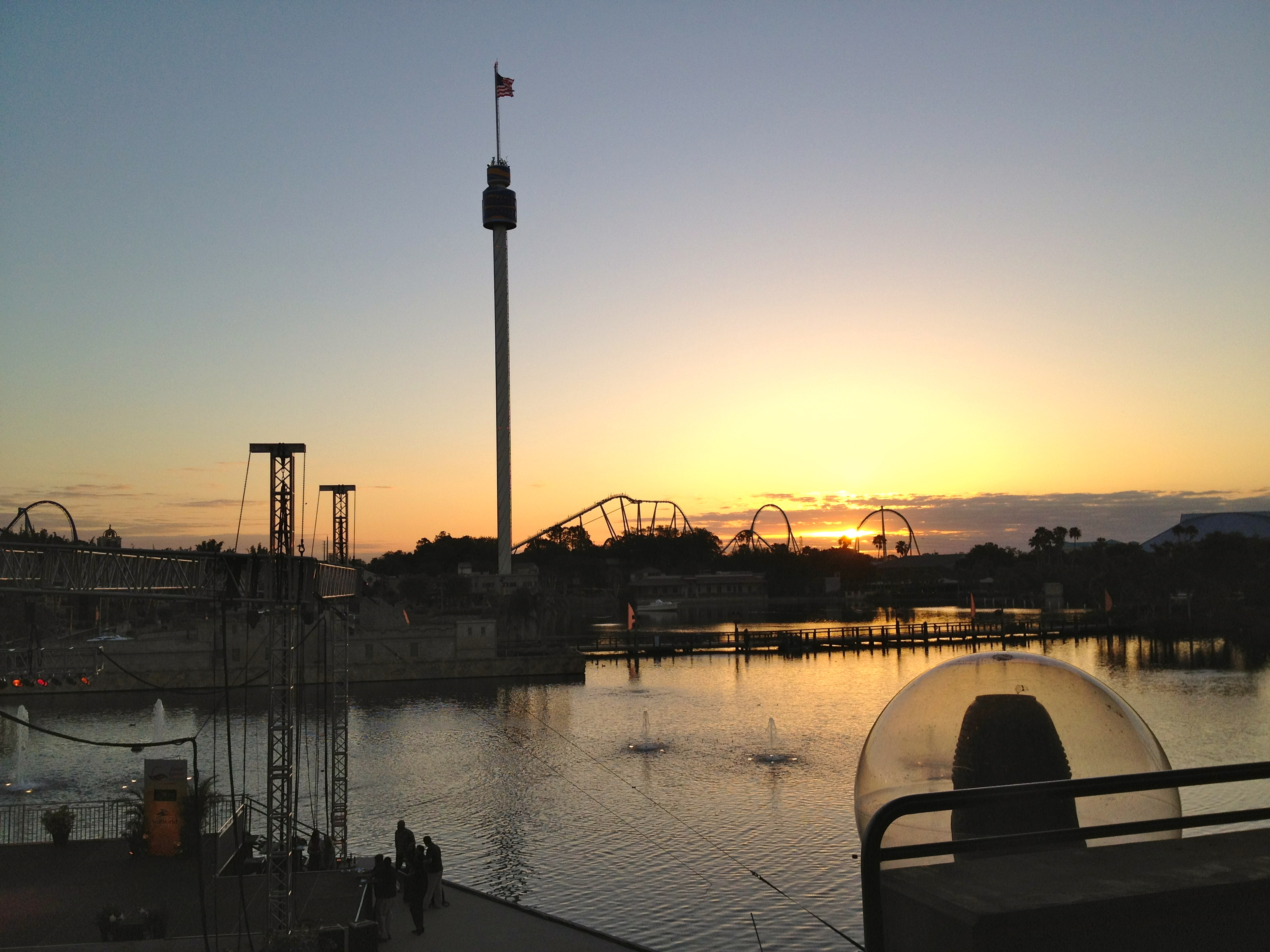 Easter Sunrise Service at Sea World 2012