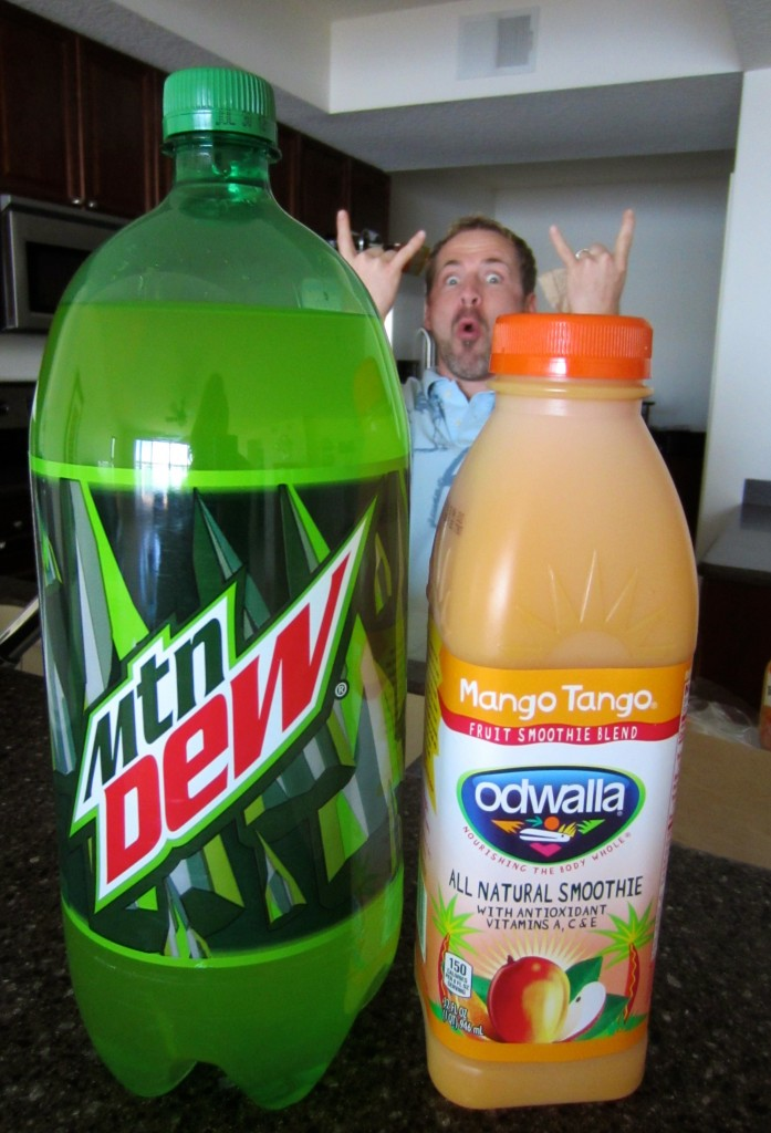 Mtn Dew and Odwalla Lent Treats