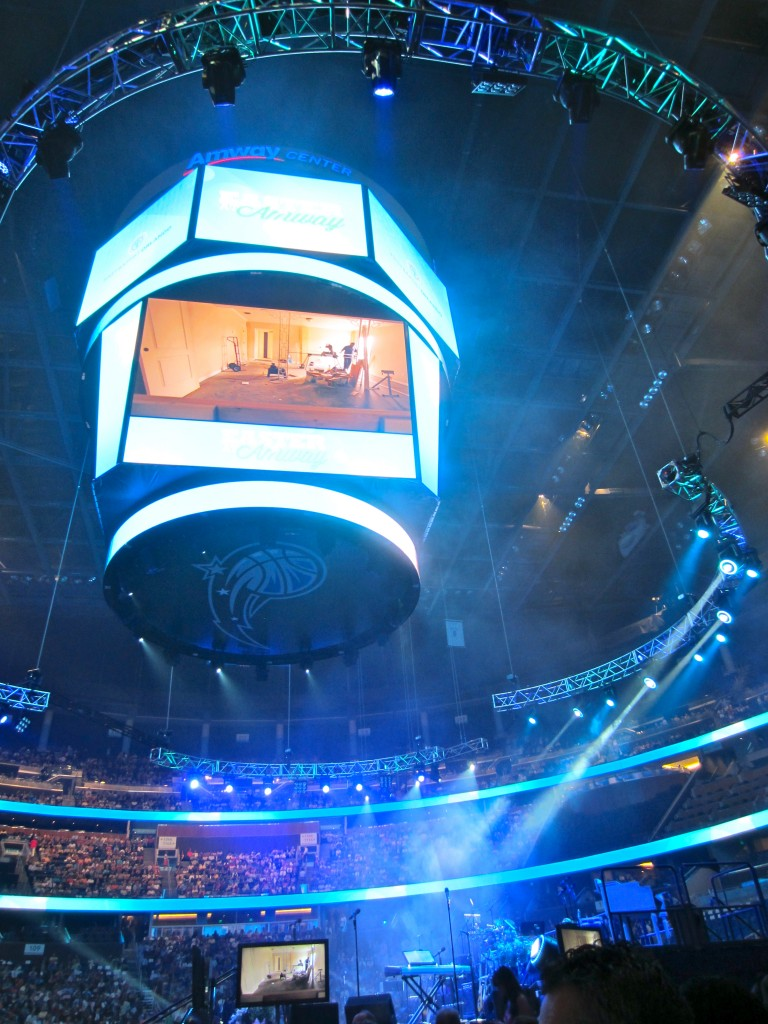 Easter Service at Amway Center