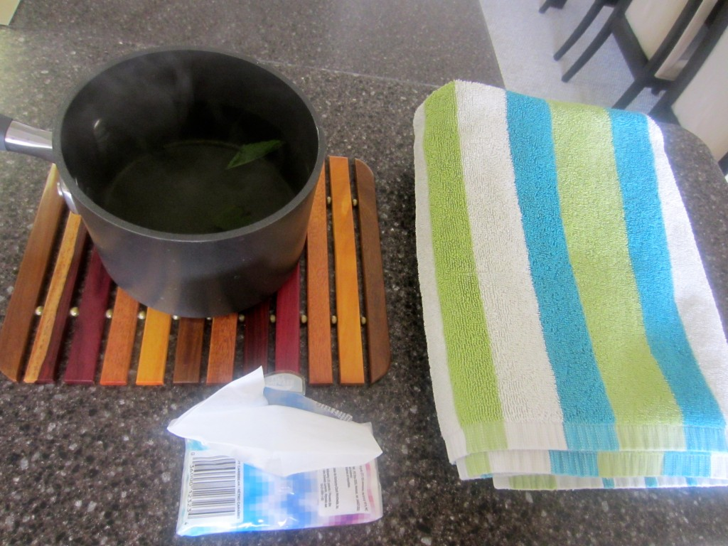 Supplies for Boiling Water trick