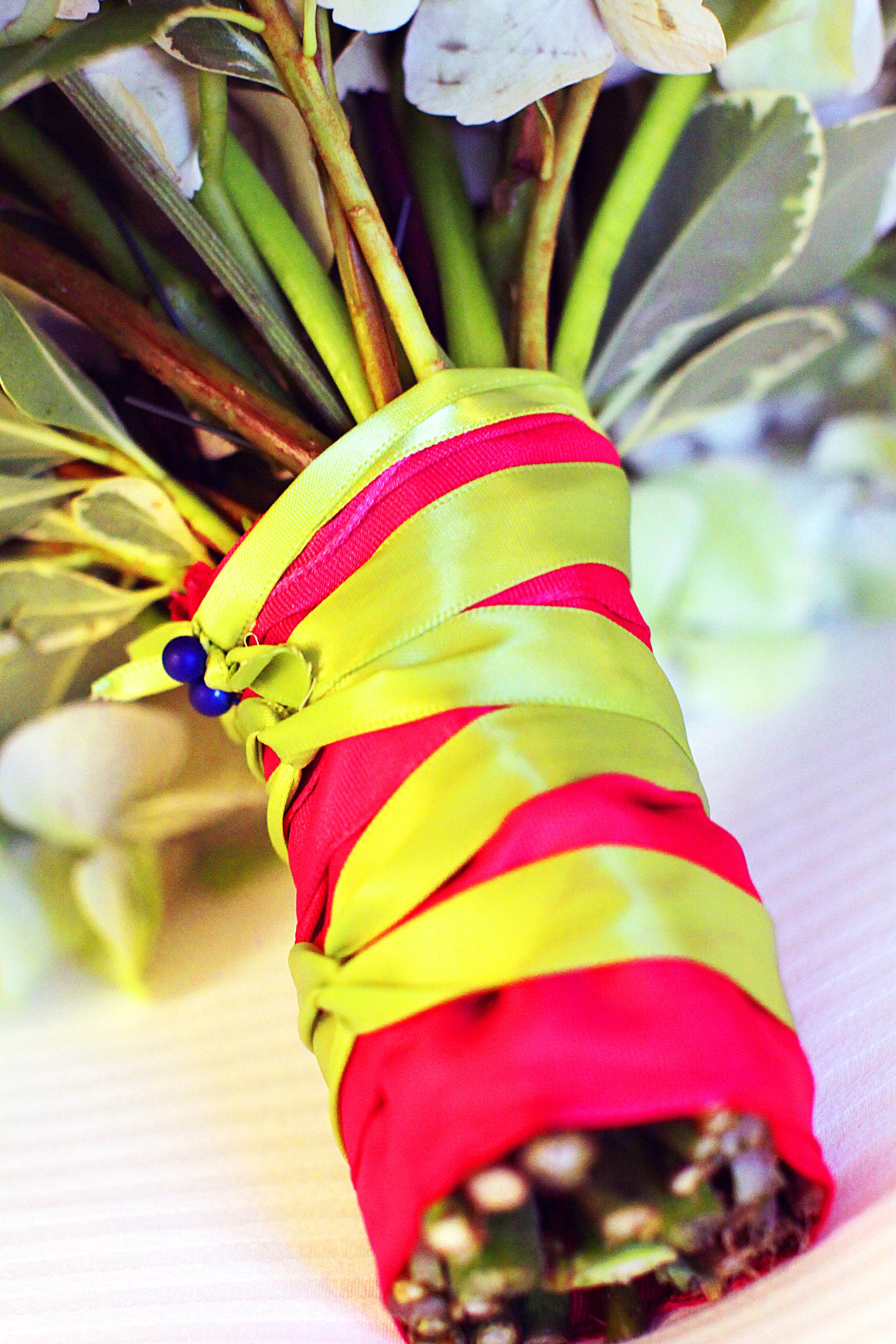 Detail on Bridal Bouquet