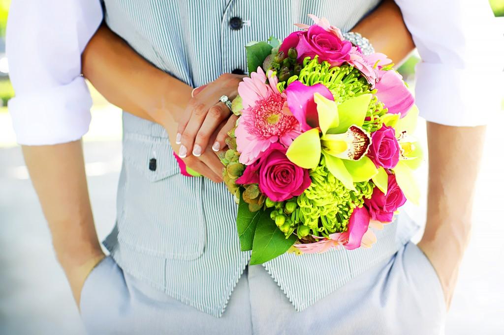 Bridal Bouquet Rock the Dress Shoot