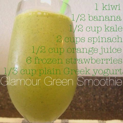 Glamour Green Smoothie