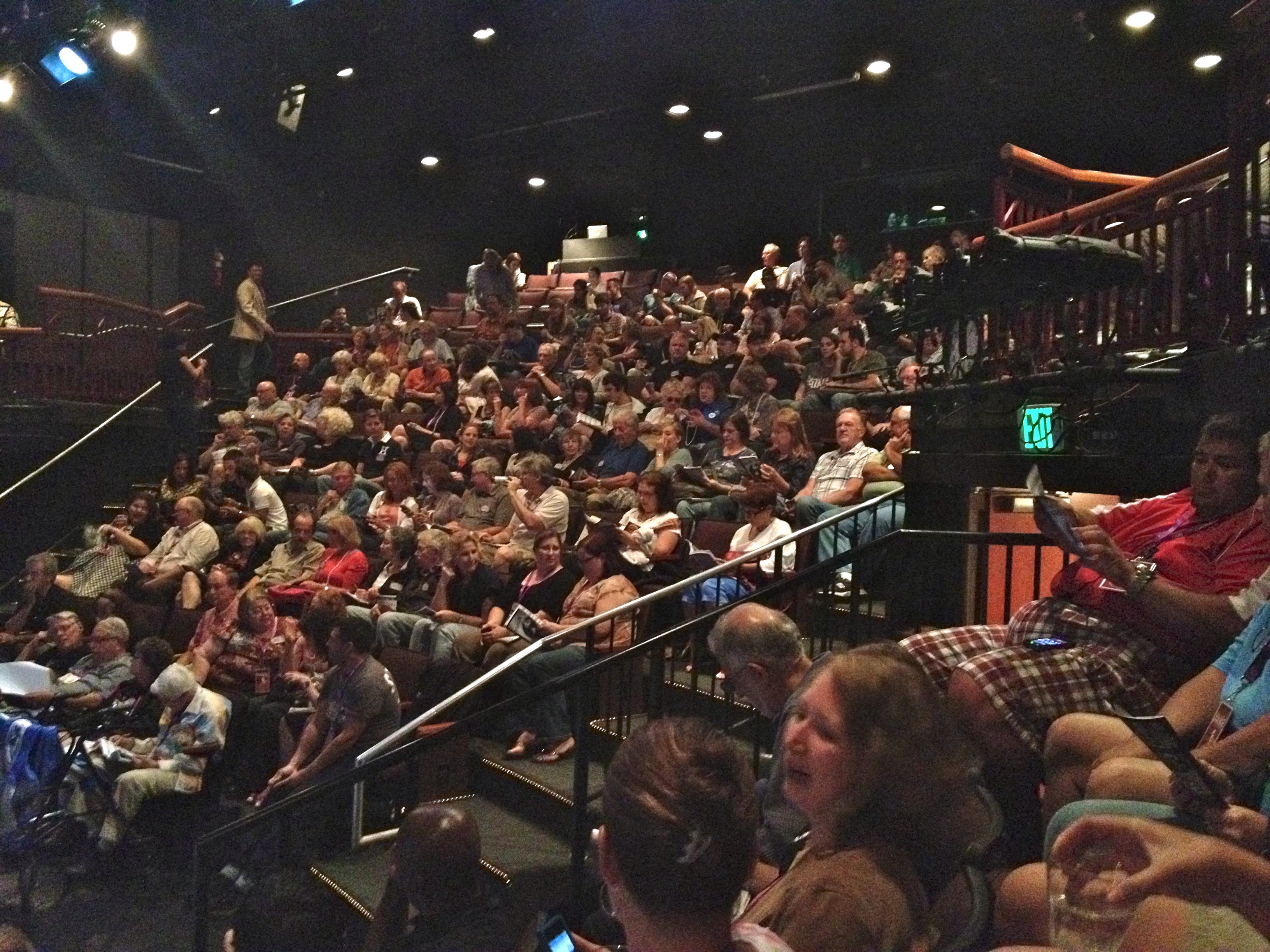 Fringe Festival audience