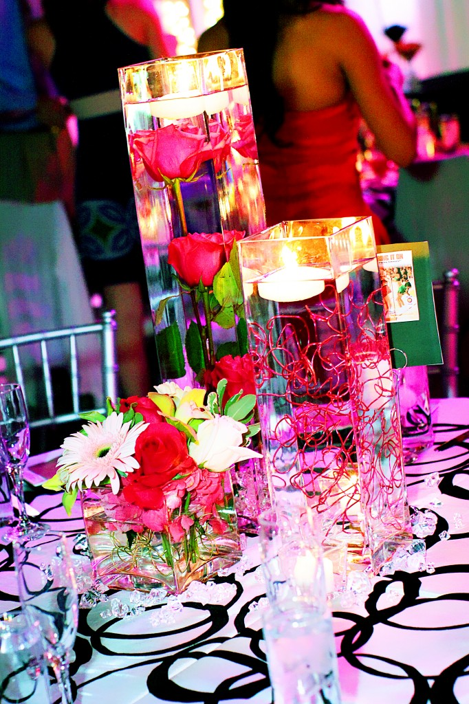 Lee Forrest Wedding Centerpieces