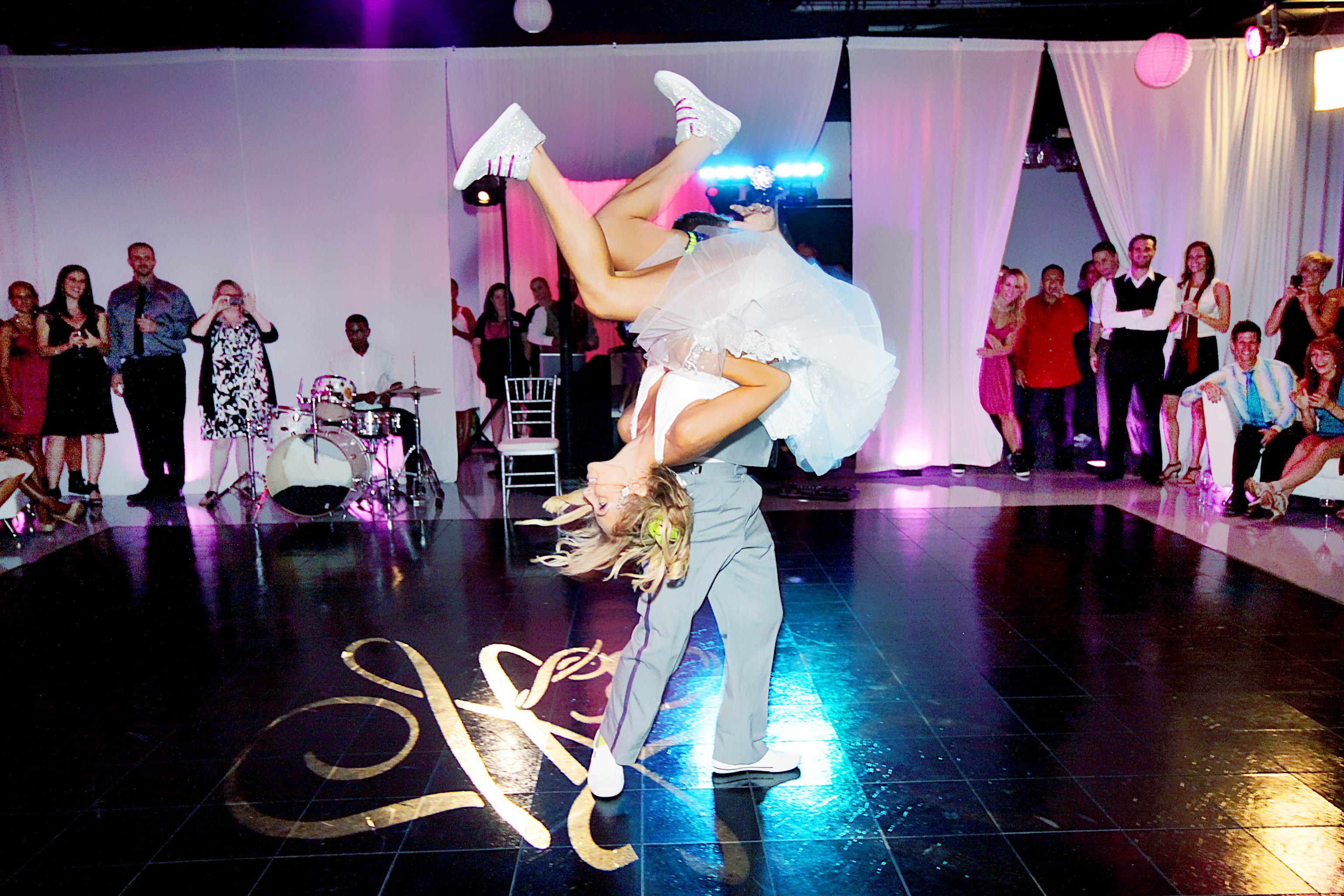 Flip Surprise Bridal Party Dance