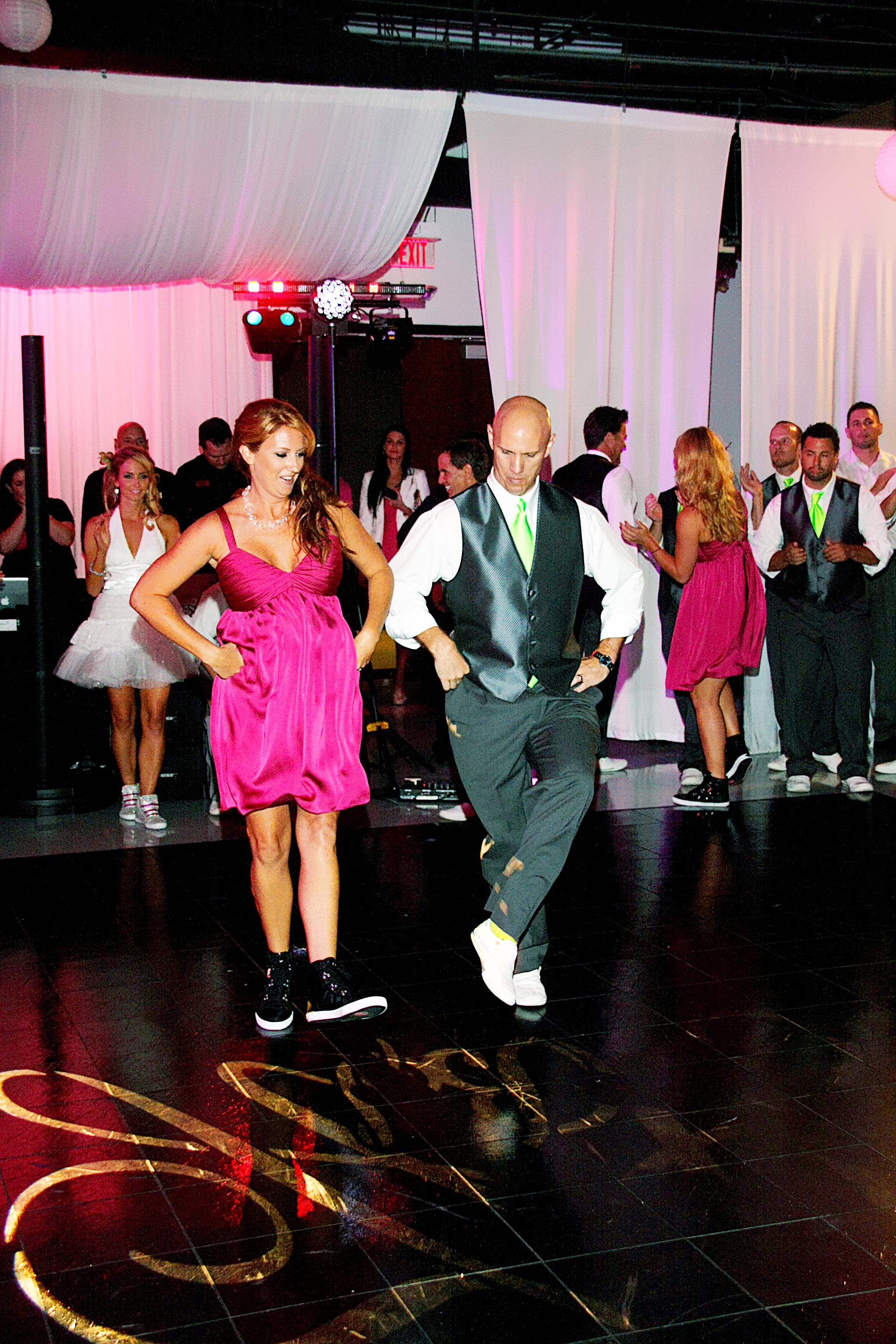 Bridesmaids and Groomsmen Intros dance