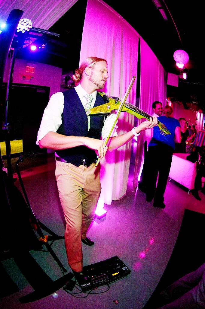 Electric Violinist Jared Burnett