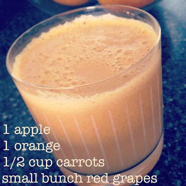 carrot apple orange grape juice recipe