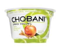 Chobani Cinnamon Apple Greek Yogurt