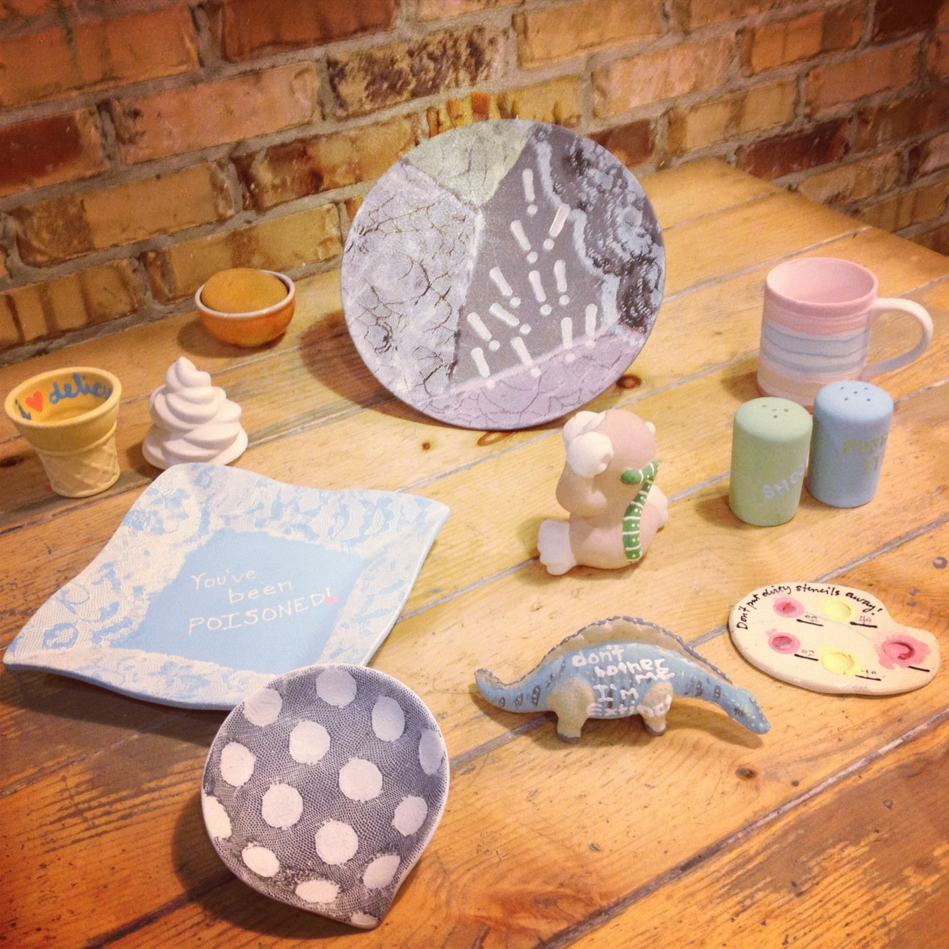 Paint your own ceramic pottery