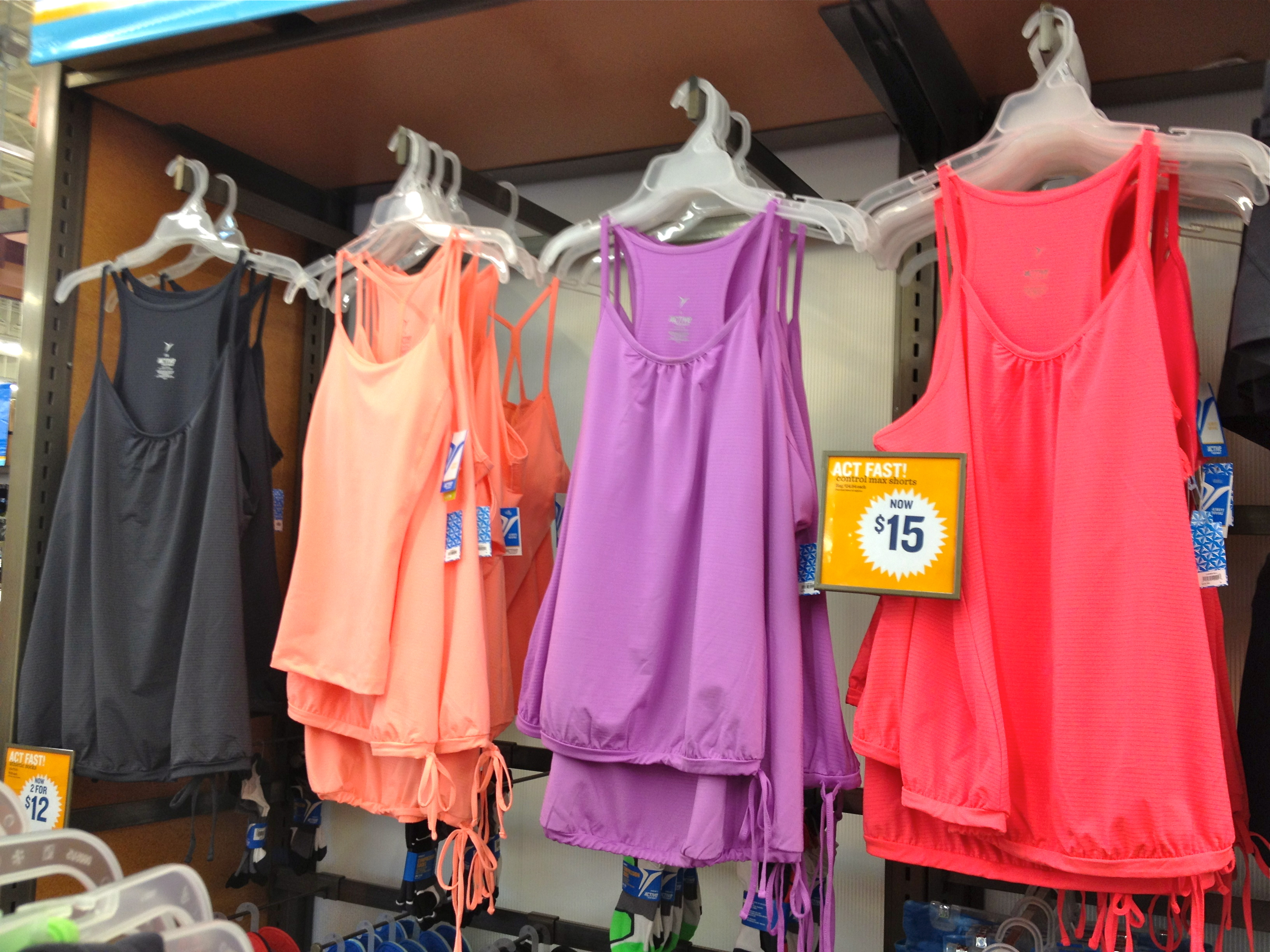 Affordable Yoga Tanks