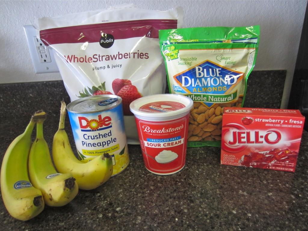 Strawberry Jello Salad Ingredients