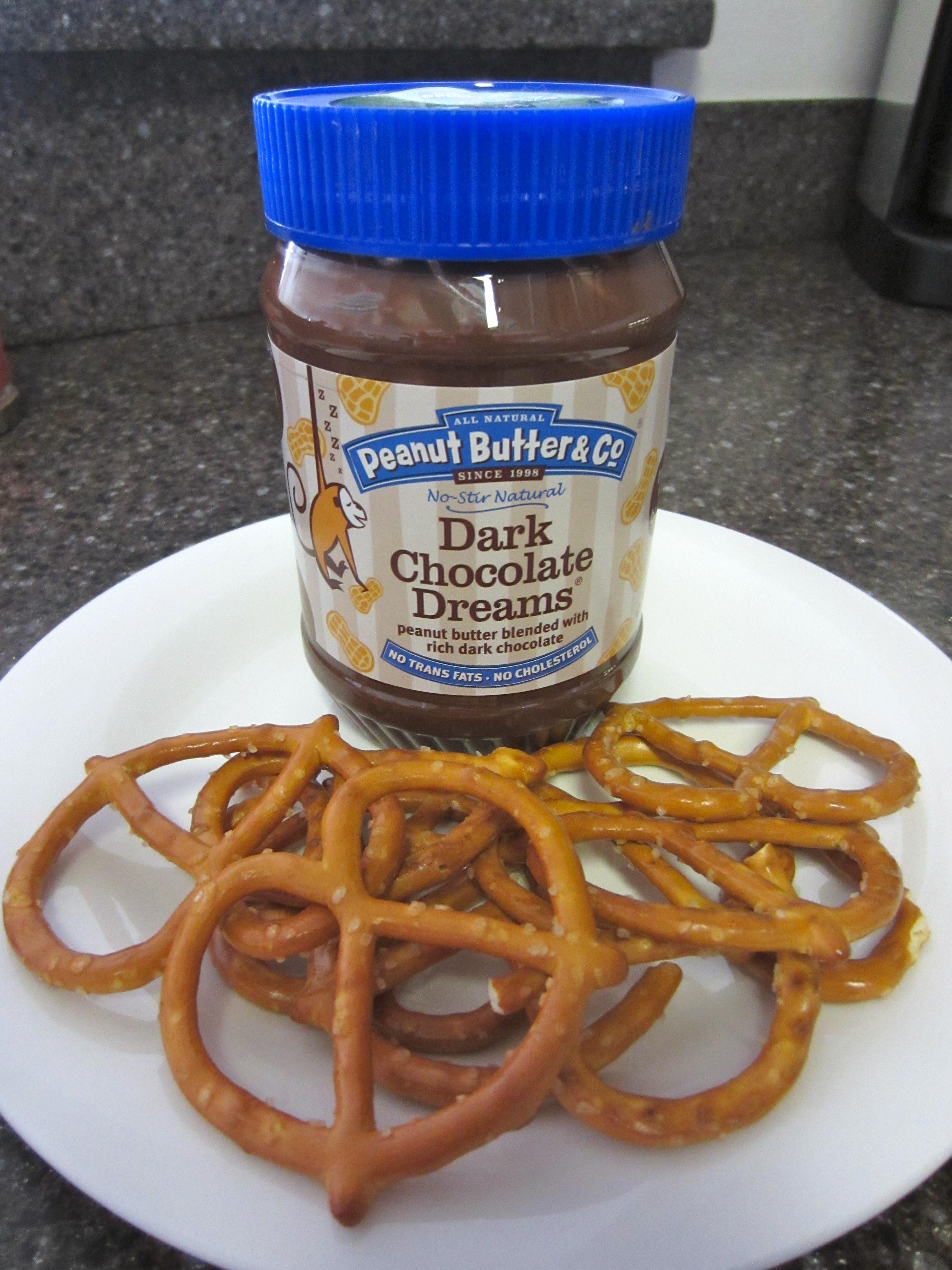 chocolate peant butter dessert