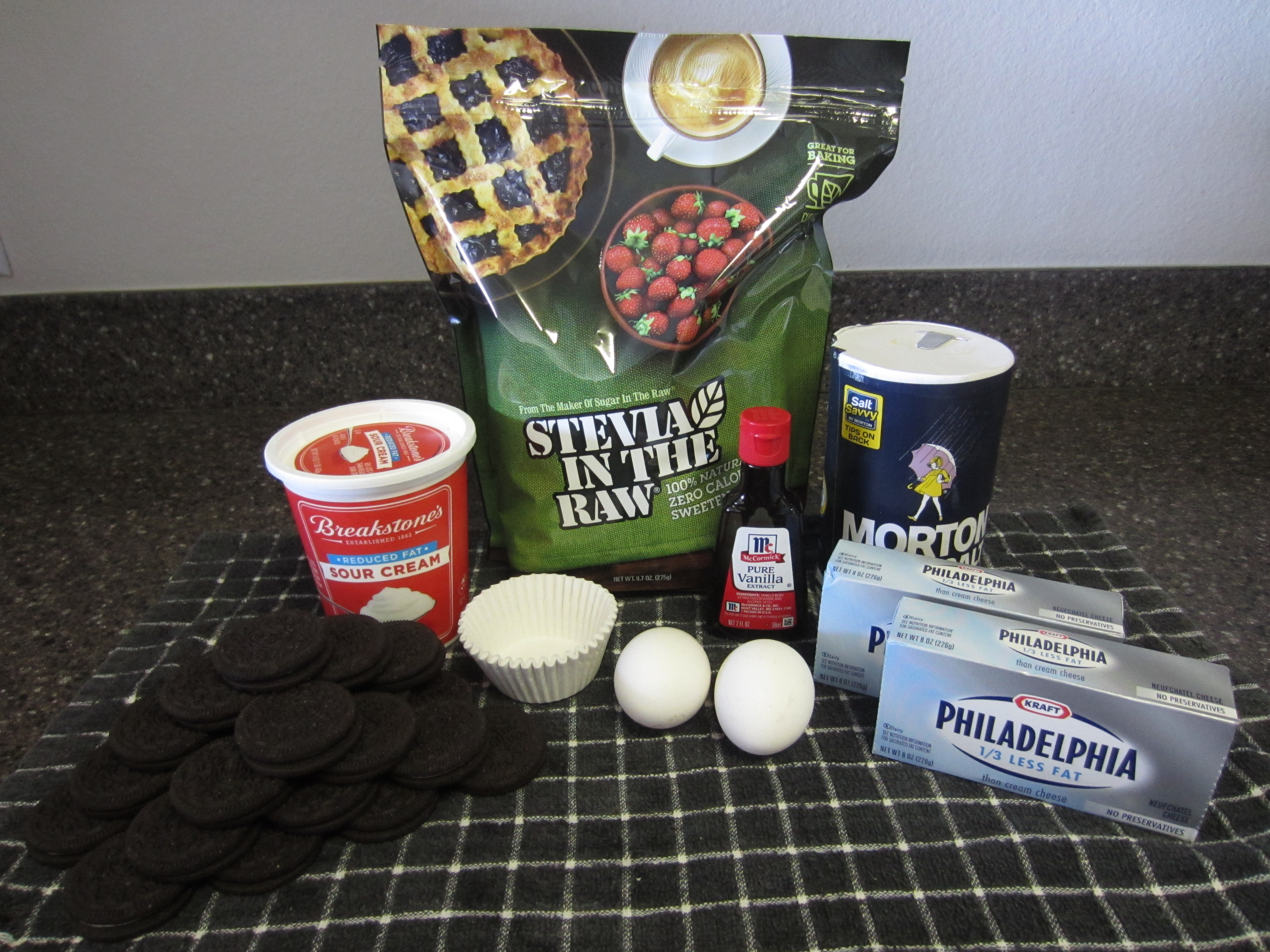 Oreo Cheesecake Cupcakes Ingredients