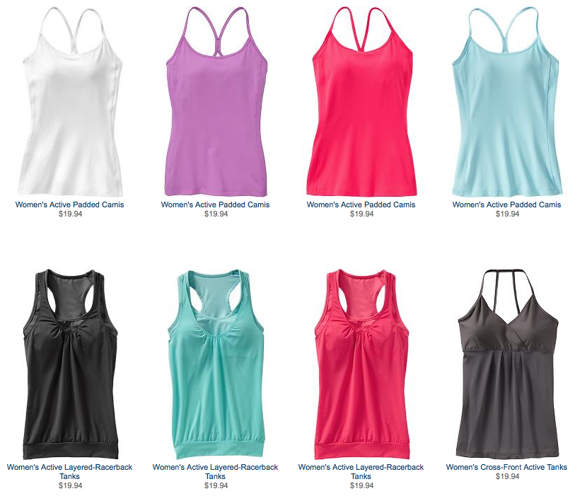 old nave yoga wear