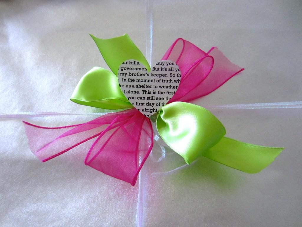 1 Year Anniversary Gift - Paper