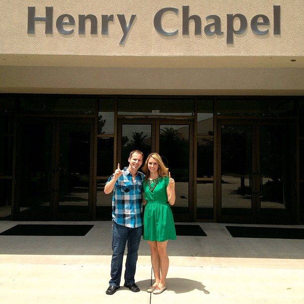 1 Year Anniversary at Henry Chapel