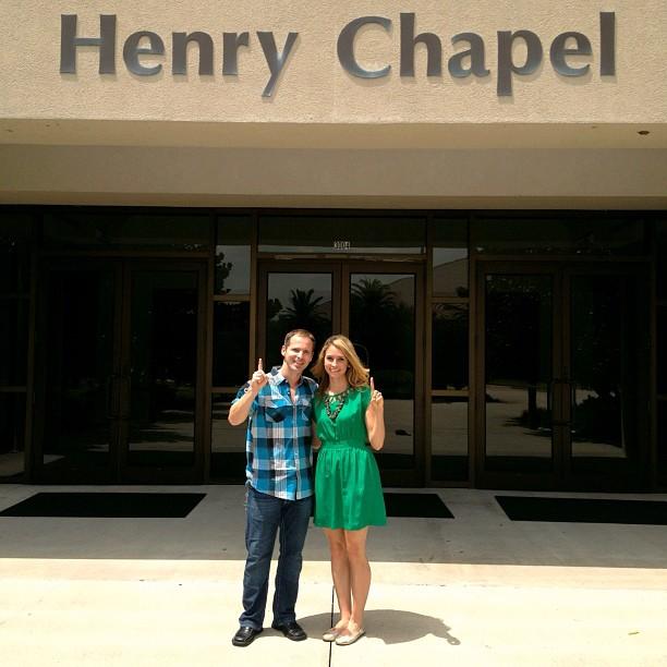 1 Year Anniversary at Henry Chapel