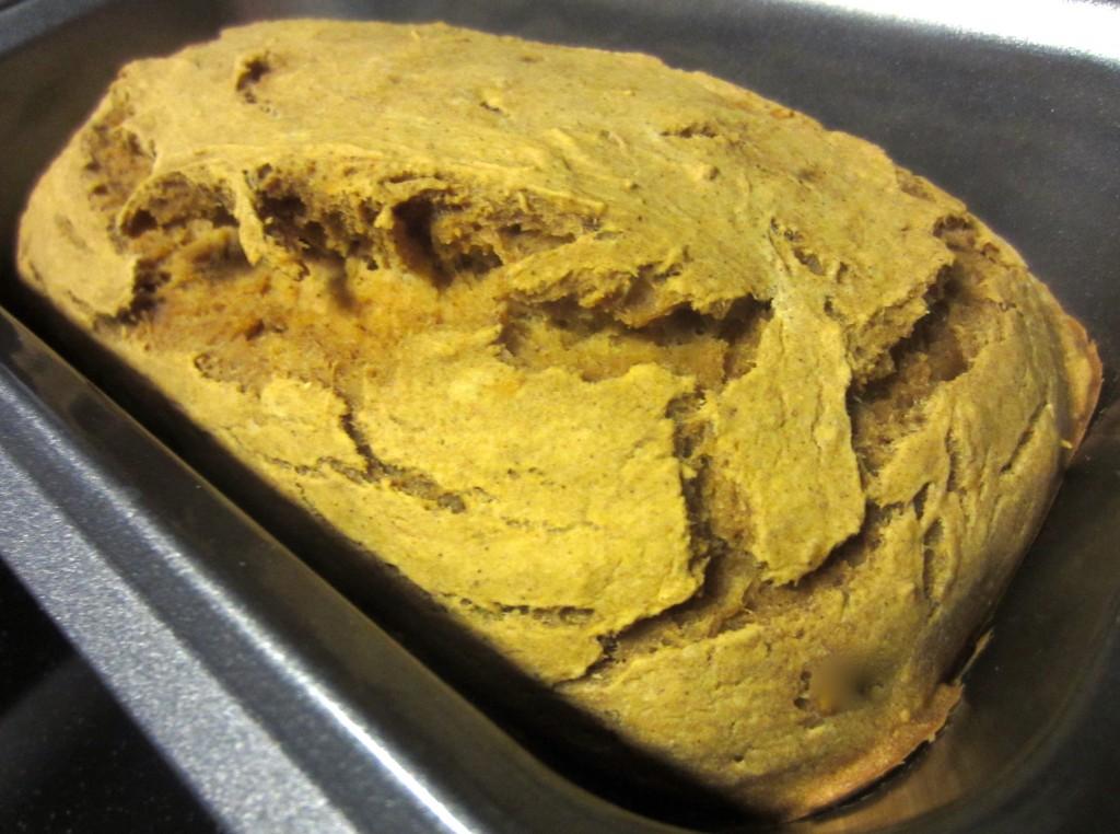 Freshly Baked Banana Pumpkin Bread