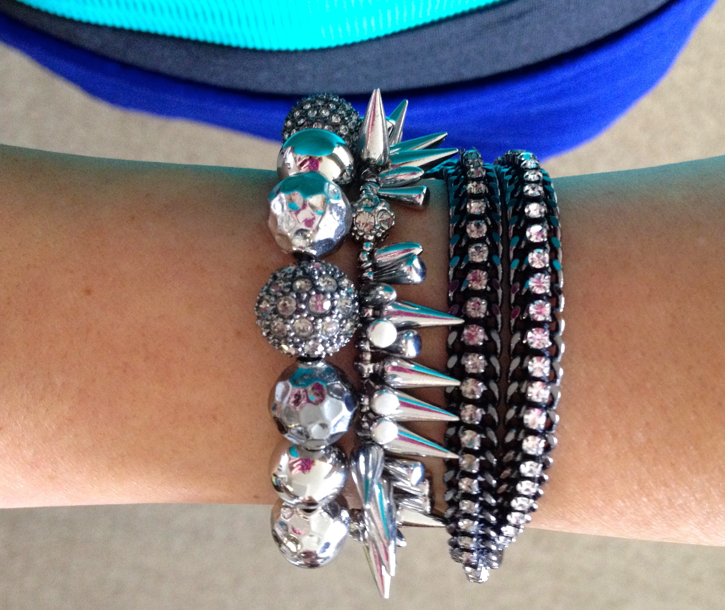 stella and dot arm candy jewelry