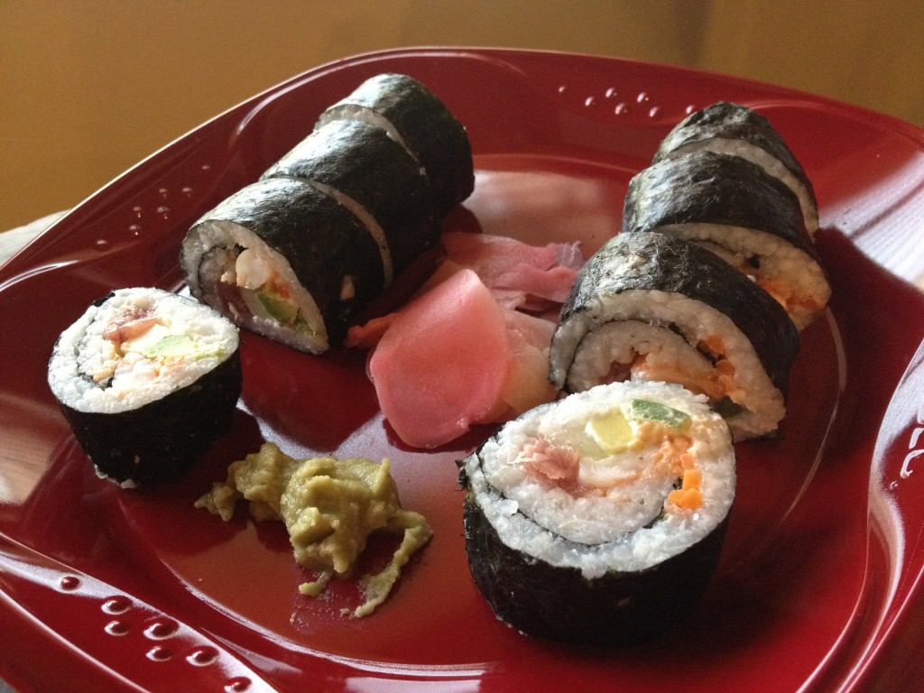 Make your own sushi party